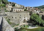 Stunning stone property run as a B&B and restaurant/bar overlooking the river.