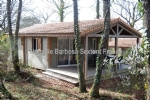 Wooden frame house with 3 rooms