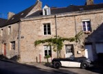 Charming town house in medieval market town of Guemene