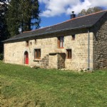 Well renovated granite house with barn.