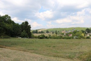 Between Brive and Souillac, land 3000 m2 with CU in the heart of a village of Lot