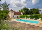 House Character Stone 162 M2 + Chalet + Barn + Swimming Pool On 1.8 Hect