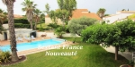 Magnificent Villa 4 Faces Type 7 On Ground Of More Than 1500 Sqm. Large Garage And Swimming Pool.