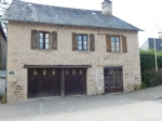 Lovely detached stone village, house, 2 bedrooms, room to expand! small garden.