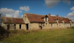 Partly restored farm in Loire Valley