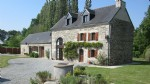 Large stone house with gite