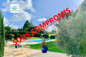 Magnificent 8 rooms villa with swimming pool in the heart of La Baule International Golf