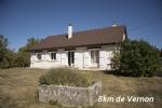Maison de plein pied 5 mn De Vernon 50 mn Paris Ouest