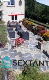 Village house of 88 m2 with 4 rooms, cellar, garage and garden terrace, source.