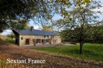 Isolated 4 bedroomed Normandy farm house