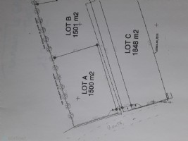 Building plot of 1500 m2