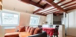 Flat 2 - 3 rooms in duplex of 42m ² Carrez law and 52.61m ²