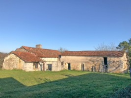 Nice farm house with potential, outbuildings, hangar, original features, chimney, stone sink
