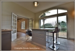 Bergerac Ouest, old house renovated on one level, large volumes, 4 bedrooms, office, veranda