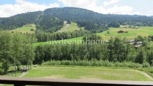 View on the slopes for this apartment in Praz sur Arly (74120)
