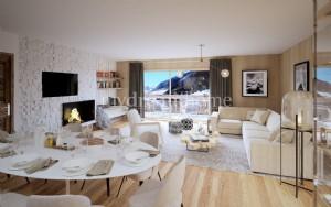 3 bedroom luxury Appartement Praz sur Arly (74120) near Megeve
