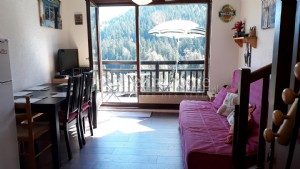 For sale flat 1 bedroom 1 cabin 1 dormitory on mezzanine (73590) St Nicolas la Chapelle