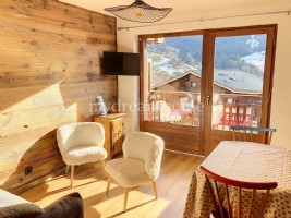 Exclusivity: T2 + cabin in the centre of Praz sur Arly (74120)