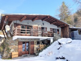 Chalet with garden and view in the centre of Flumet (73590)