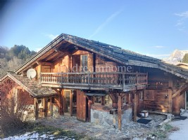Chalet with swimming pool in Megeve - Demi Quartier (74120)