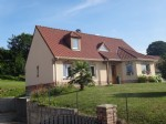modern hosue : 3 bedrooms and basement near Hesdin