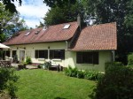 2 bedroom farmhouse at the end of a small dead-end road/track
