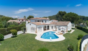 Wmn3137652, Stunning Villa With Sea And Mountain View, Tennis Court And Pool - Mougins
