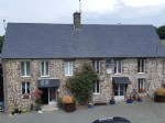 Superb brace of properties configured as house and two gites with 12 acres of land