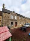 Detached four bed longere with lots of outbuildings and land