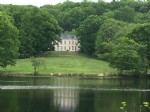 Country mansion with land and lake