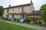 Beautiful stone hamlet house with barn and private garden    Situated close to the village of F