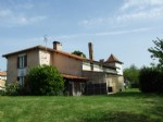 Country house with large outbuildings.South Charente