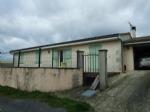 Single storey property for sale Brossac Charente. Views