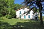 Charente 3 bed farmhouse with stone barn land
