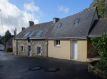 3 Bedroomed village house with  office and covered lean-to