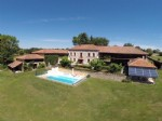 Chambre d'hôtes with gîte, pool ,land and an exceptionel view of the P