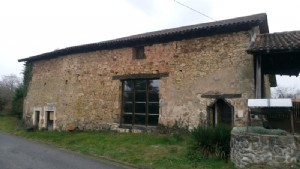 Large barn to convert with attached  garden