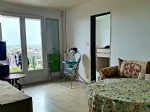 Rented apartment situated in Montauban, offering a beautiful view of the town