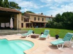 Fanjeaux - Renovated Farmhouse, Pool, Barn, view of Pyrenees.