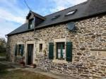 Jugon les lacs area, brittany - pretty stone cottage for sale in quiet hamlet lo