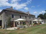 Gîte complex in idyllic surroundings close to dinan with a nectare of land