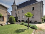 St Céré (Lot) - Chateau 'en-ville' with numerous options. Luxury B&B, large family residence etc