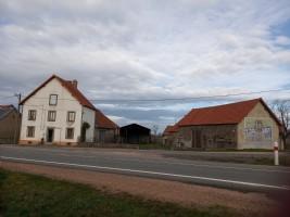 House, 2 barns & small house with barn on 1HA26