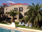 *Character Stone Farmhouse plus 2 stone cottages, separate pools,gardens, with wonderful views