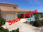 *Detached villa with heated pool and sea view