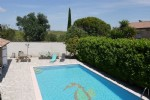 *Spacious villa with pools and view near Pezenas.