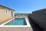 *Villa with stunning views, pool and four bedrooms Roujan.
