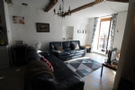 *Lovely village house with terrace in Pouzolles