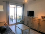 *Seaside apartment with direct access to the beach at Marseillan plage.
