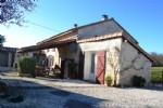Stone farmhouse with pool and views